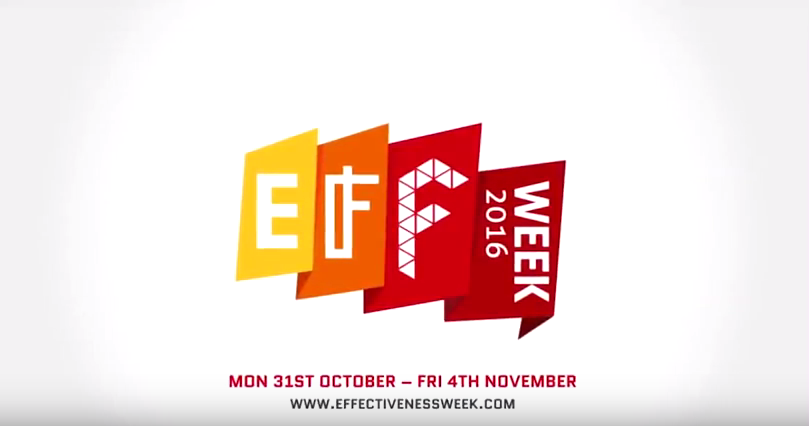 Effectiveness Week, 31st October to 4th November 2016 ...